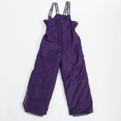 """Брюки для девочки """"FLINN"""", рост 104 см, цвет тёмно-лилoвый 70073"""