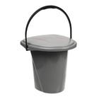 Ведро-туалет, 18 л, цвет МИКС - Фото 1