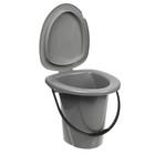 Ведро-туалет, 18 л, цвет МИКС - Фото 5