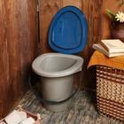 Ведро-туалет, 18 л, цвет МИКС - Фото 3