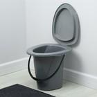 Ведро-туалет, 18 л, цвет МИКС - Фото 4