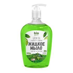Жидкое мыло Bio Naturell «Зелёный чай», с дозатором, 500 мл