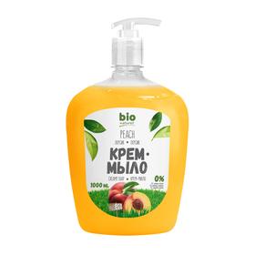 Жидкое мыло Bio Naturell «Персик», с дозатором, 1000 мл