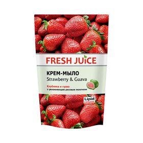 Жидкое мыло Fresh Juice «Клубника и гуава», 460 мл