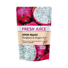 Жидкое мыло Fresh Juice «Франжипани и драконов фрукт», 460 мл