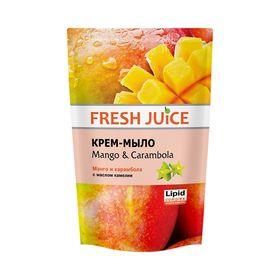 Жидкое мыло Fresh Juice «Манго и карамбола», 460 мл