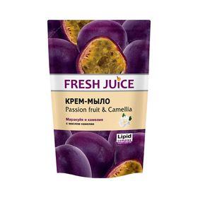 Жидкое мыло Fresh Juice «Маракуйя и камелия», 460 мл