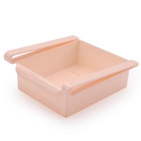 Контейнер для холодильника, цвет розовый, 1,68 л