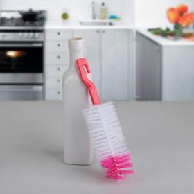 Ёршик для посуды, 6×25 см, цвет МИКС Ош