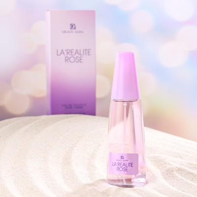 Туалетная вода для женщин Grace Alba, La'realite rose, 50 мл - Фото 1
