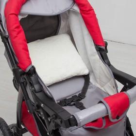 Подушка в коляску «Зефирка», размер 30 × 28 см, цвет молочный Ош