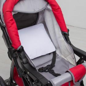 Подушка в коляску «Бантик», размер 30 × 28 см, цвет белый Ош