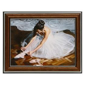 Картина 'Балерина' 16х21 см Ош