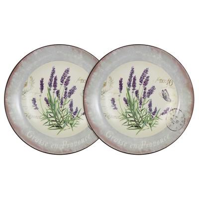 Набор из 2-х суповых тарелок «Лаванда», 21 см - Фото 1