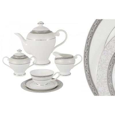 Чайный сервиз «Бостон», 21 предмет на 6 персон - Фото 1