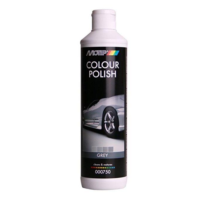 BLACK LINE Полироль MOTIP цветообогащённый, серый, 500 мл