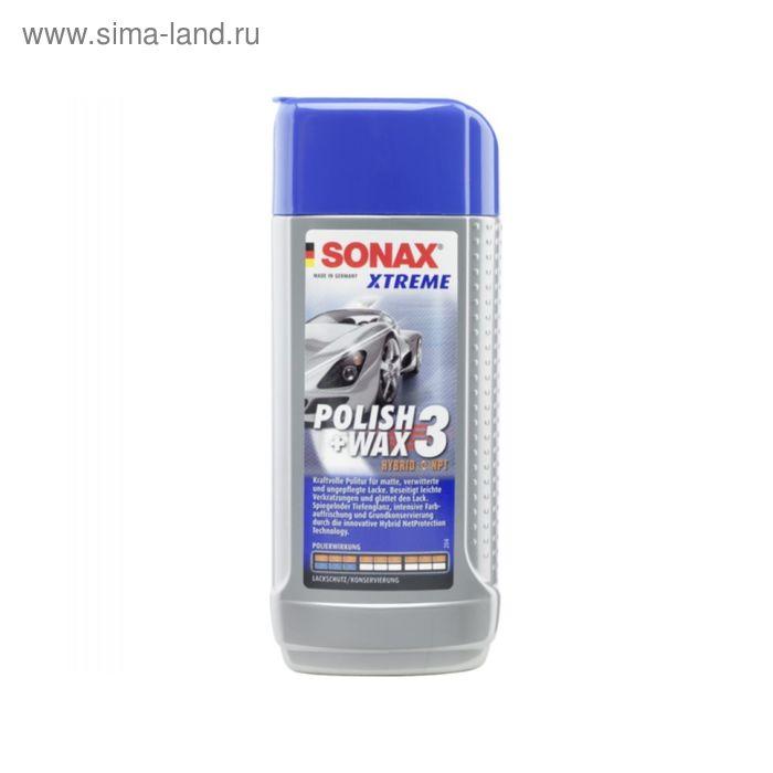 Xtreme Полироль SONAX №3 NanoPro для поврежденных покрытий,  250 мл
