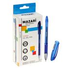 Ручка шариковая Torino, игольчатый пишущий узел 0.7 мм, чернила синие на масляной основе