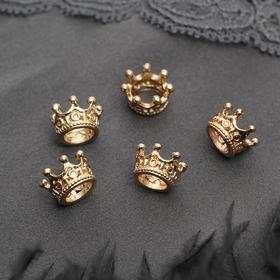 Талисман 'Коронка', цвет золото Ош