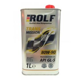Трансмиссионное масло Rolf 80W-90 API GL-5 минеральное, 1 л Ош
