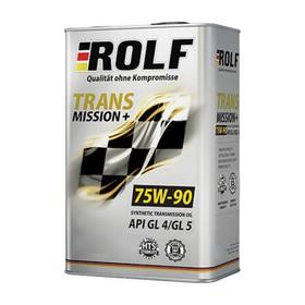Трансмиссионное масло Rolf 75W-90 API GL-4 полусинтетика, 1 л