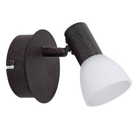 Светильник DAKAR 1x3,3Вт LED черный 12,5x12,5x13см