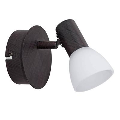 Светильник DAKAR 1x3,3Вт LED черный 12,5x12,5x13см - Фото 1