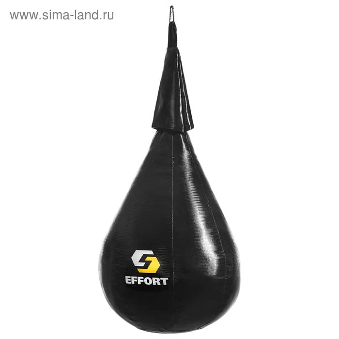 Груша боксерская EFFORT MASTER, на ленте ременной, тент, малая, 40 см, d 25 см, 4 кг