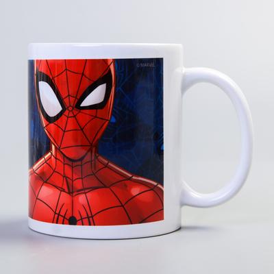 """Кружка """"Супергерой"""", Человек-паук, 350 мл - Фото 1"""