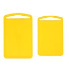 Набор досок разделочных, 2 шт, цвет жёлтый