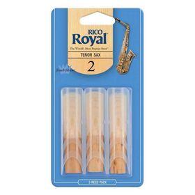 Трости Rico RKB0325  Royal  для саксофона тенор, размер 2.5, 3шт