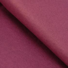 Бумага упаковочная тишью, бордовый, 50 см х 66 см Ош