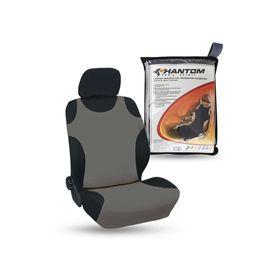 Чехлы-майки универсальные на передние сиденья, cерые BOXERKA PHANTOM Ош