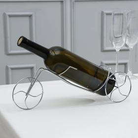 Подставка для бутылки «Велосипед», 36×8,5×11 см Ош