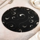 Блюдо сервировочное «Марокко», d=30 см, чёрное - Фото 3