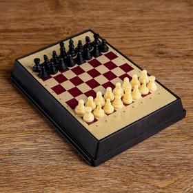 Настольная игра 4 в 1 'Вектор', доска и фигуры пластик, 16.5х12 см Ош