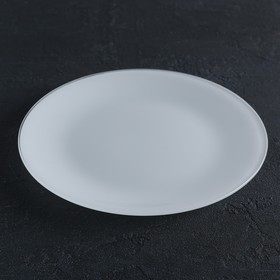 Тарелка 24 см, цвет белый
