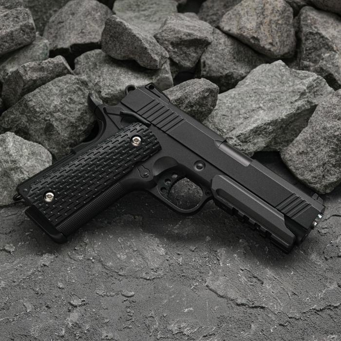 Пистолет пружинный Galaxy Colt 1911 PD G.25 клб 6 мм