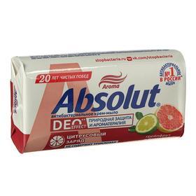 Крем-мыло Absolut «Грейпфрут и бергамот», антибактериальное, 90 г