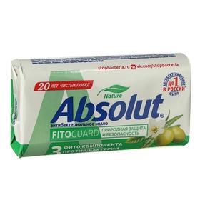 Мыло Absolut Nature «Белый чай и масло оливы», антибактериальное, 90 г