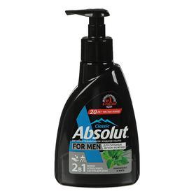 Мыло жидкое Absolut For Men «Лемонграсс и мята», 250 мл