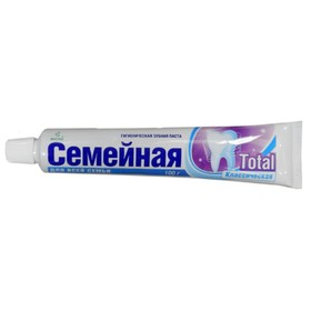Зубная паста Семейная «Тотал», 100 г