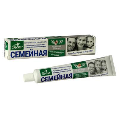 Зубная паста Семейная «Кедровый эликсир», 100 г