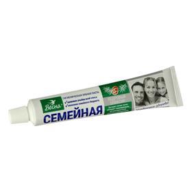 Зубная паста Весна Семейная «Кедровый эликсир», 100 г