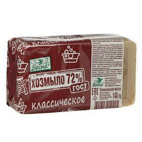 Мыло хозяйственное 72% «Классическое», 140 г