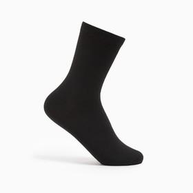 Носки детские, цвет чёрный, размер 22-24 Ош