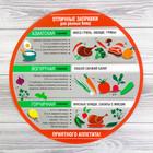 Многофункциональный кухонный коврик «Отличные заправки», 30 см