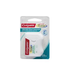 Зубная лента Colgate Total с фтором и мятным вкусом, 25 м Ош