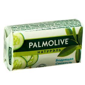 Мыло Palmolive Натурэль «Бодрящая свежесть», с экстрактами зелёного чая и огурца, 90 г