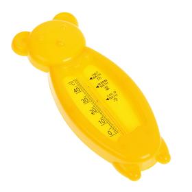 """Термометр """"Мишка"""", детский, для воды, пластик, 14 см, МИКС"""